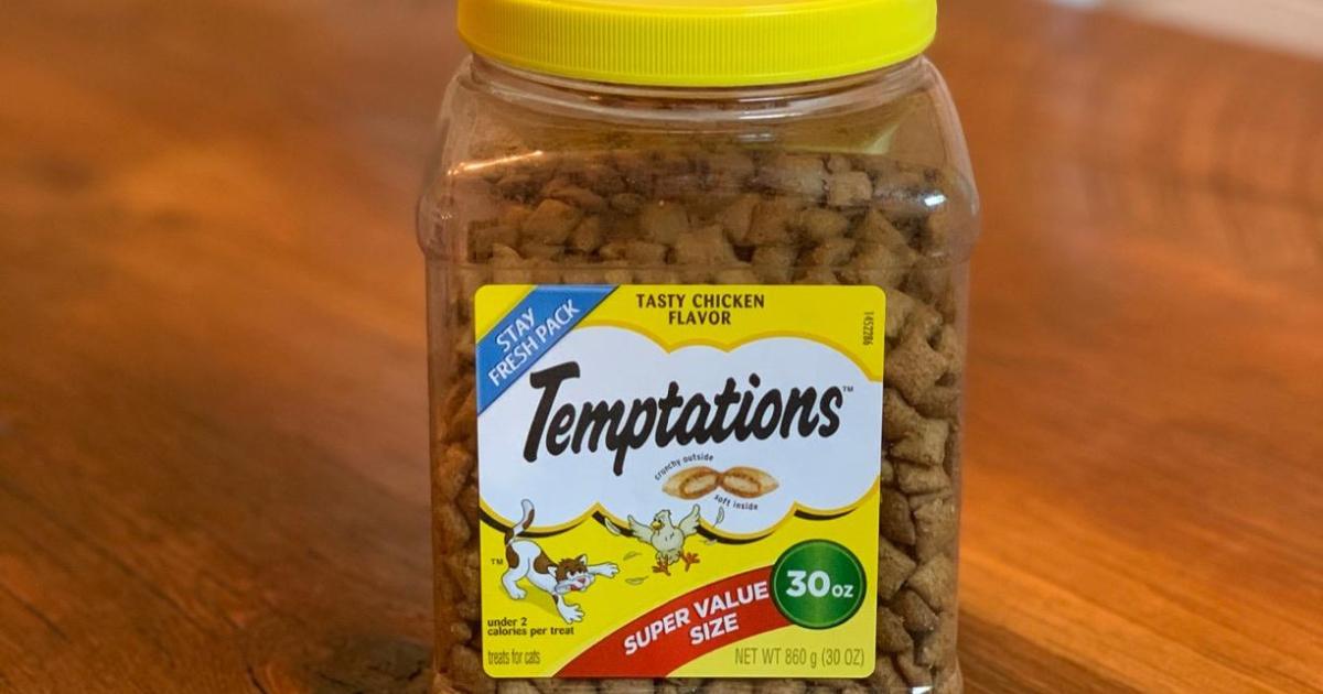 temptations cat treats chicken