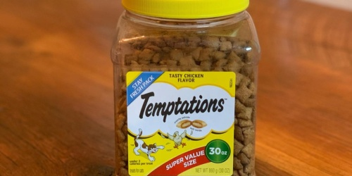 Temptations Cat Treats 30oz Jar Only $4.97 Shipped on Amazon (Regularly $16)