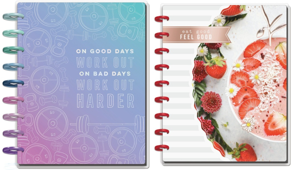 two the happy planners recipe books