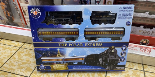 Polar Express & Harry Potter Train Sets Only $29.99 at ALDI