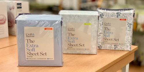 Croft & Barrow Easy Care Sheet Sets in ANY Size Only $12.74 on Kohls.com (Regularly up to $80)