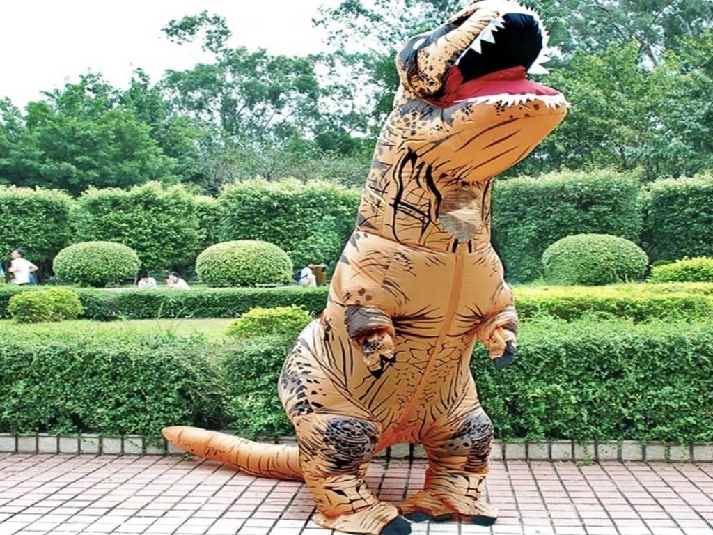 trex dinosaur inflatable costume
