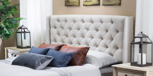 Christopher Knight Tufted Headboard Only $132.99 Shipped on Target.com (Regularly $190)