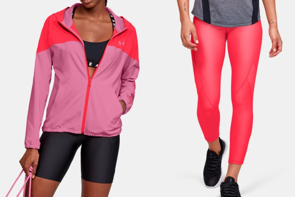 under armour womens gear hoodie and leggings