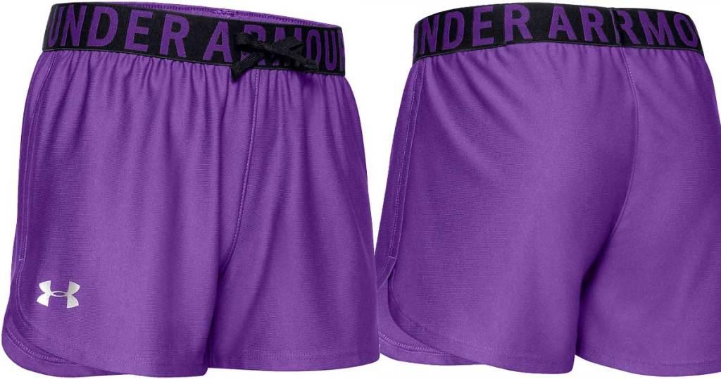 celana pendek gadis ua ungu
