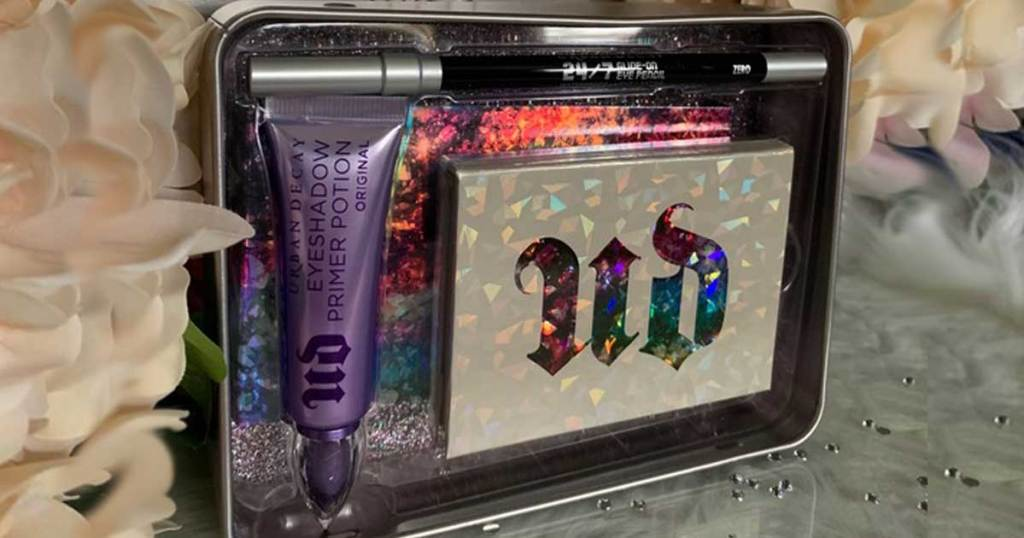 gift set of makeup for eyes