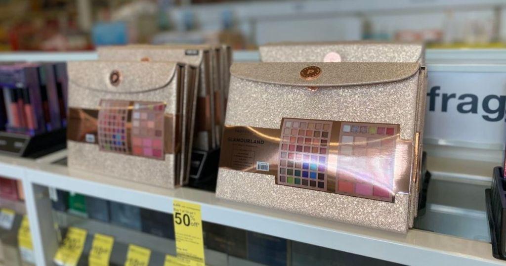 makeup set on store shelf