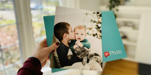 FREE 8×10 Photo Print w/ Free Walgreens Same-Day Pickup