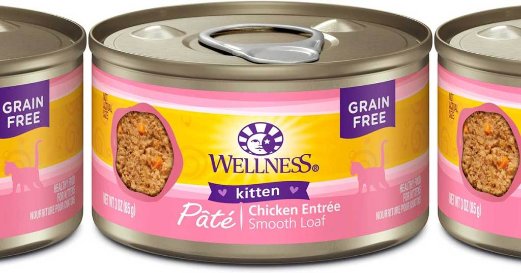 wellness kitten food in cans
