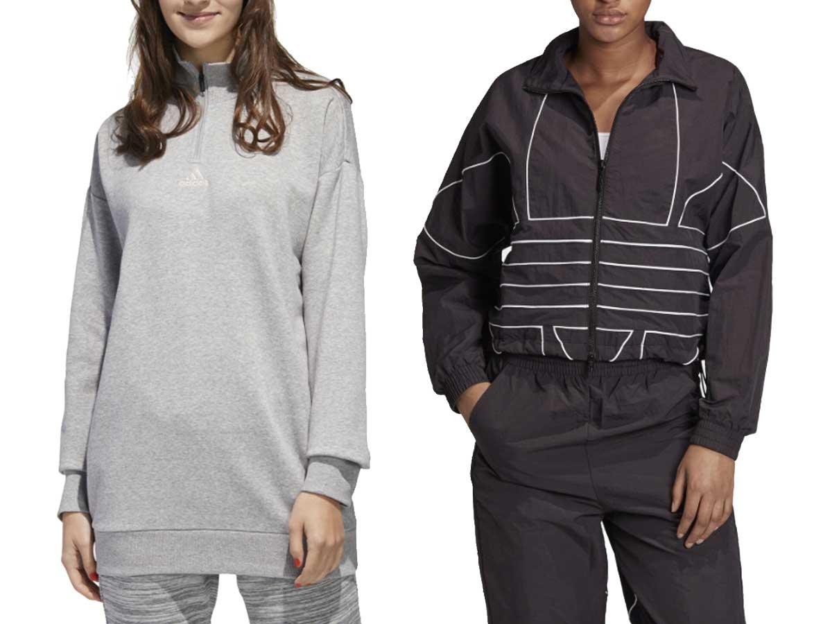 women's sweatshirts on models