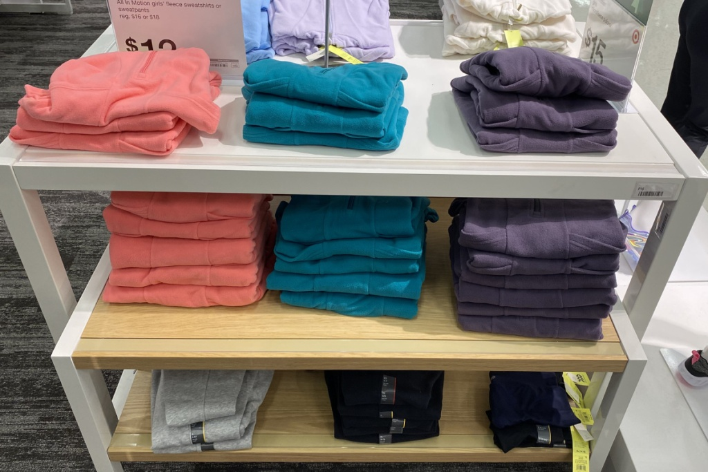 womens fleece in store at target