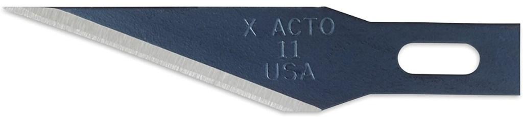 x acto blade