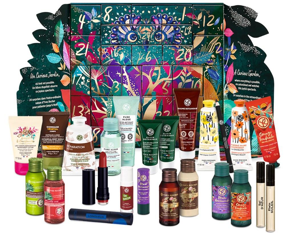 yves rocher beauty advent calendar