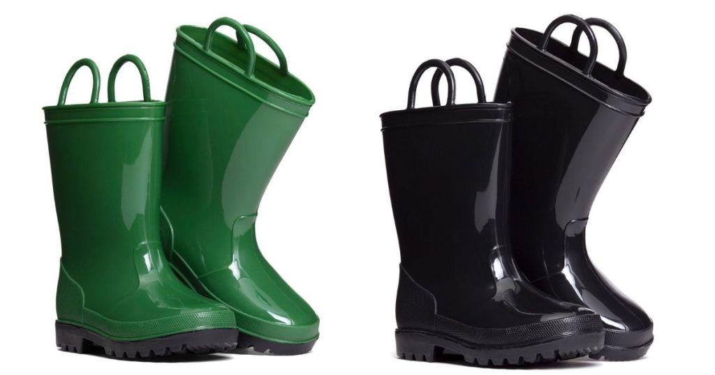 2 Pair Zoogs Rain Boots