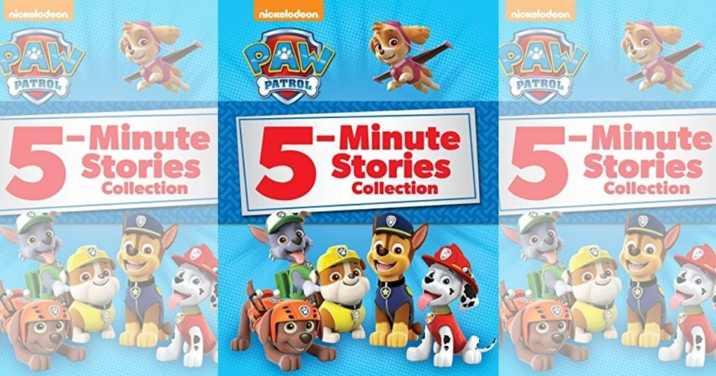 3-view of 5-Minute Stories Collection Paw Patrol