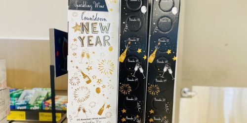 Countdown to The New Year Sparkling Wine Box Set Only $24.99 at ALDI