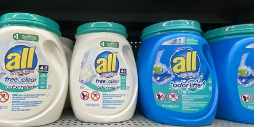 $3 Worth of All Laundry Detergent Product Coupons Available To Print