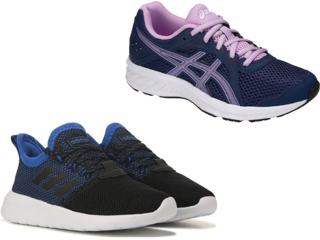 Adidas and Asics Sneakers for kids