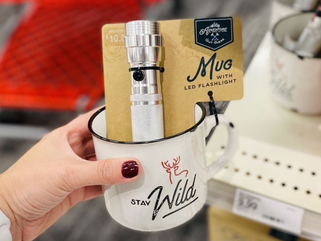 Adventure is Out There Stay Wild Mug w/ LED Lights