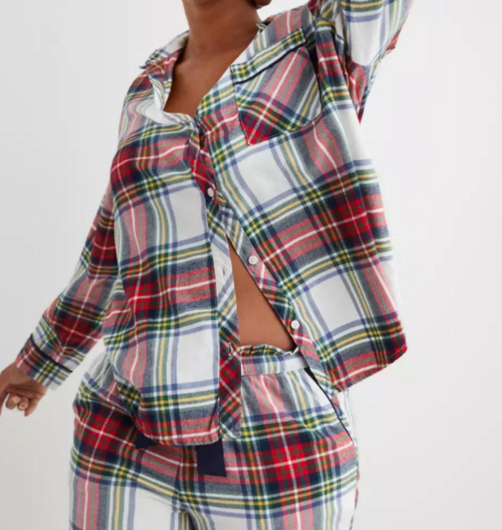 Aerie flannel pajamas
