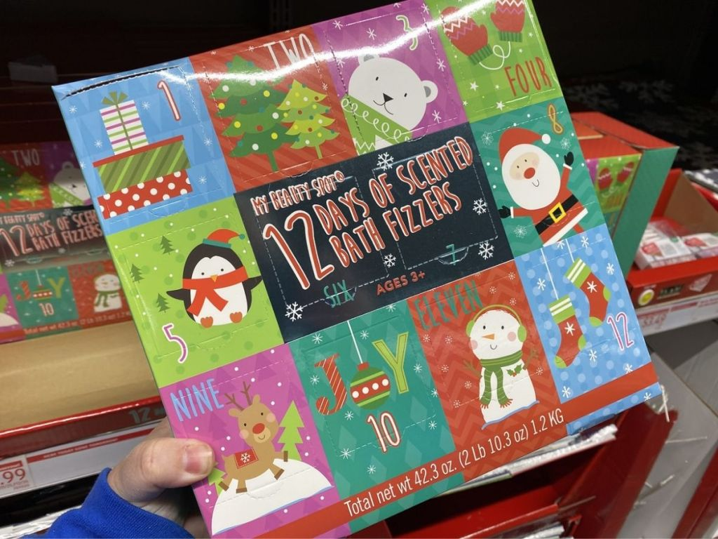 ALDI Bath Fizzer Advent Calendar