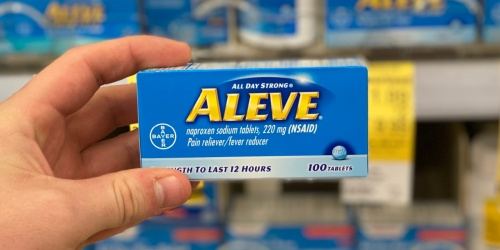 Aleve 100-Count Bottles Only $3.99 at Walgreens (Regularly $12) | In-Store & Online