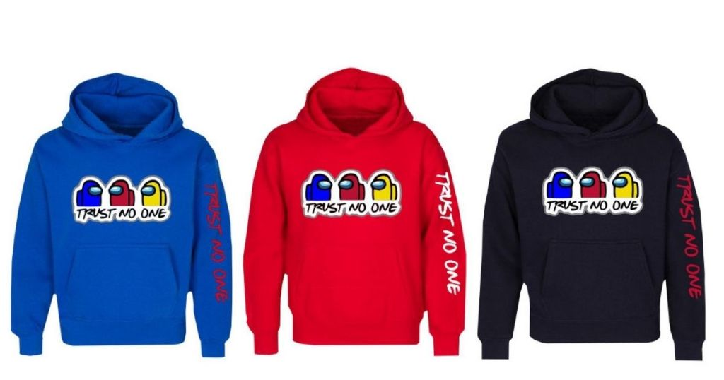 Hoodies in various colors