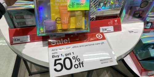 Buy 1, Get 1 50% Off Beauty Gift Sets at Target = Over $40 Worth of e.l.f. Cosmetics Just $22.50