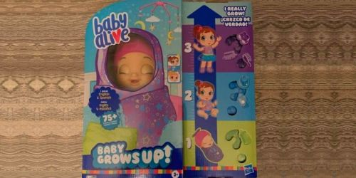 Baby Alive Grows Up Surprise Dolls Only $49 Shipped on Walmart.com (Regularly $60)