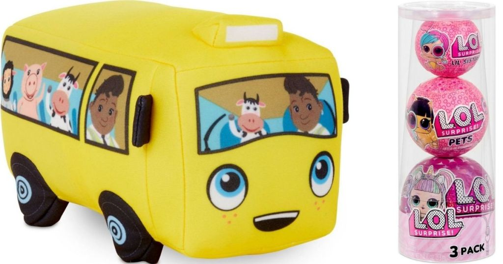 Baby Bum Bus and LOL Surprise pack