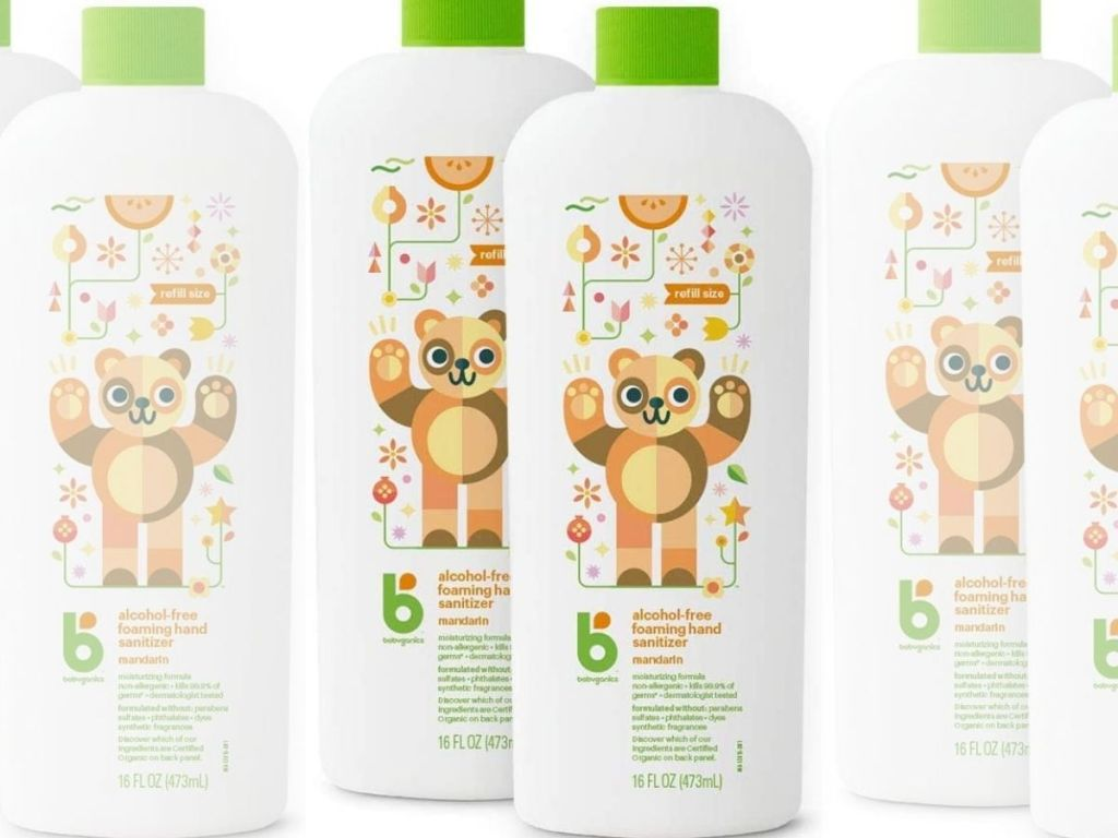 Babyganics Hand Sanitizer Refills