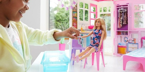 Barbie House & Doll Playset Only $31.99 on BestBuy.com (Regularly $45) | Highly Rated