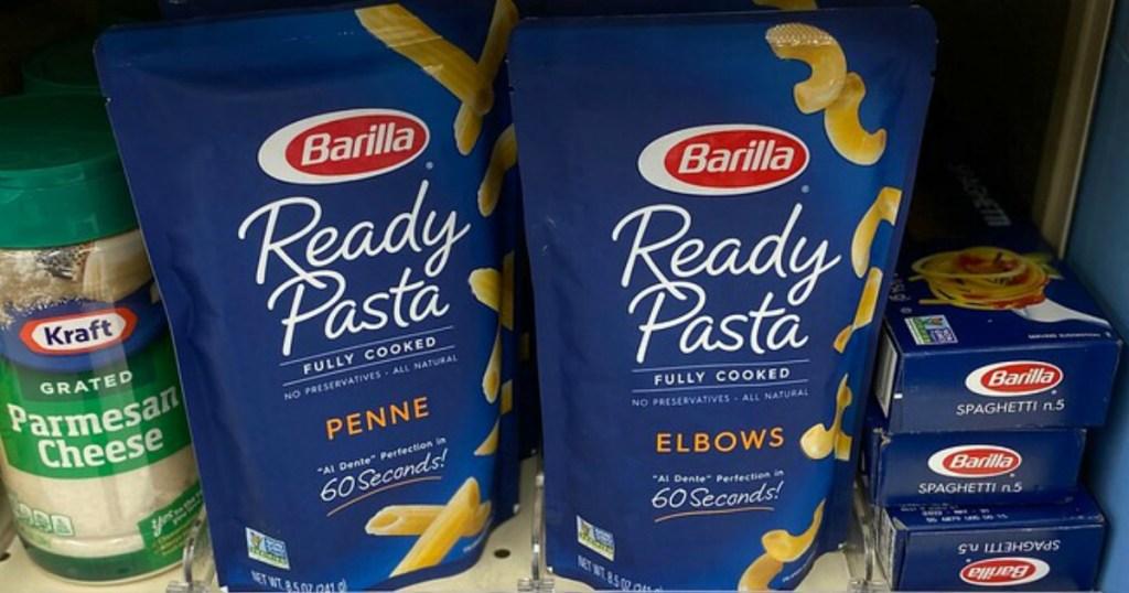 Barilla Pasta in a bag