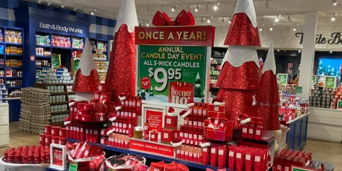 Bath & Body Works Candle Day Live Now, 12/4 Only & While Supplies Last | Online & In-Store