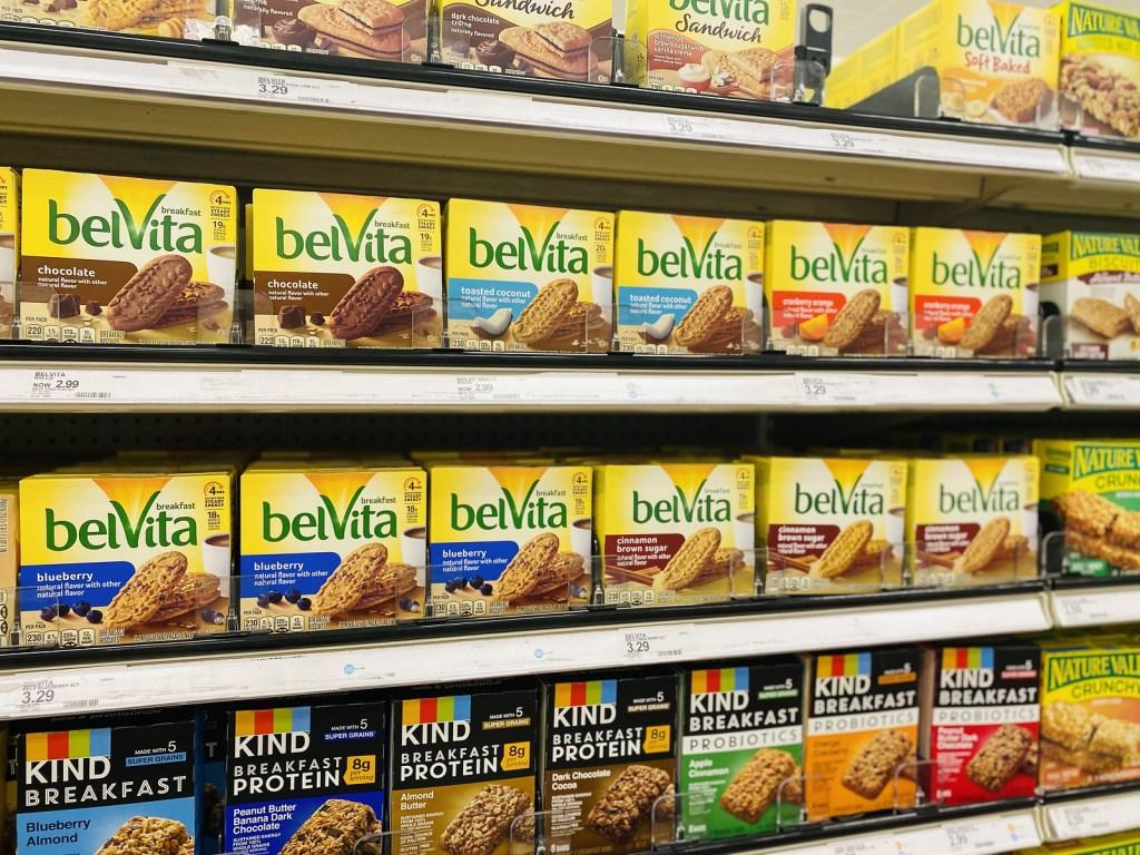 Belvita Biscuits on Target Shelf