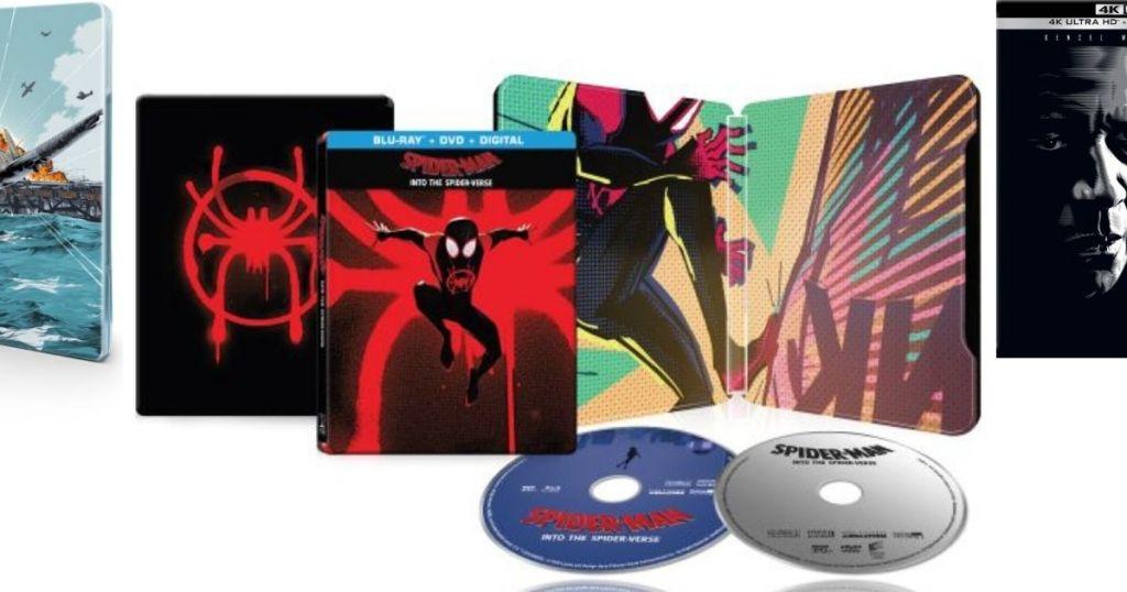 Best Buy Spiderman Steelbook