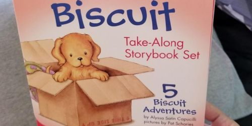 Biscuit Take-Along Storybook 5-Count Set Only $4.68 on Amazon (Regularly $12)