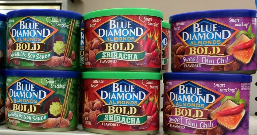 Blue Diamond Bold Almonds