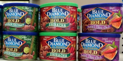Blue Diamond Almonds 6oz Cans Only $2 Shipped on Amazon