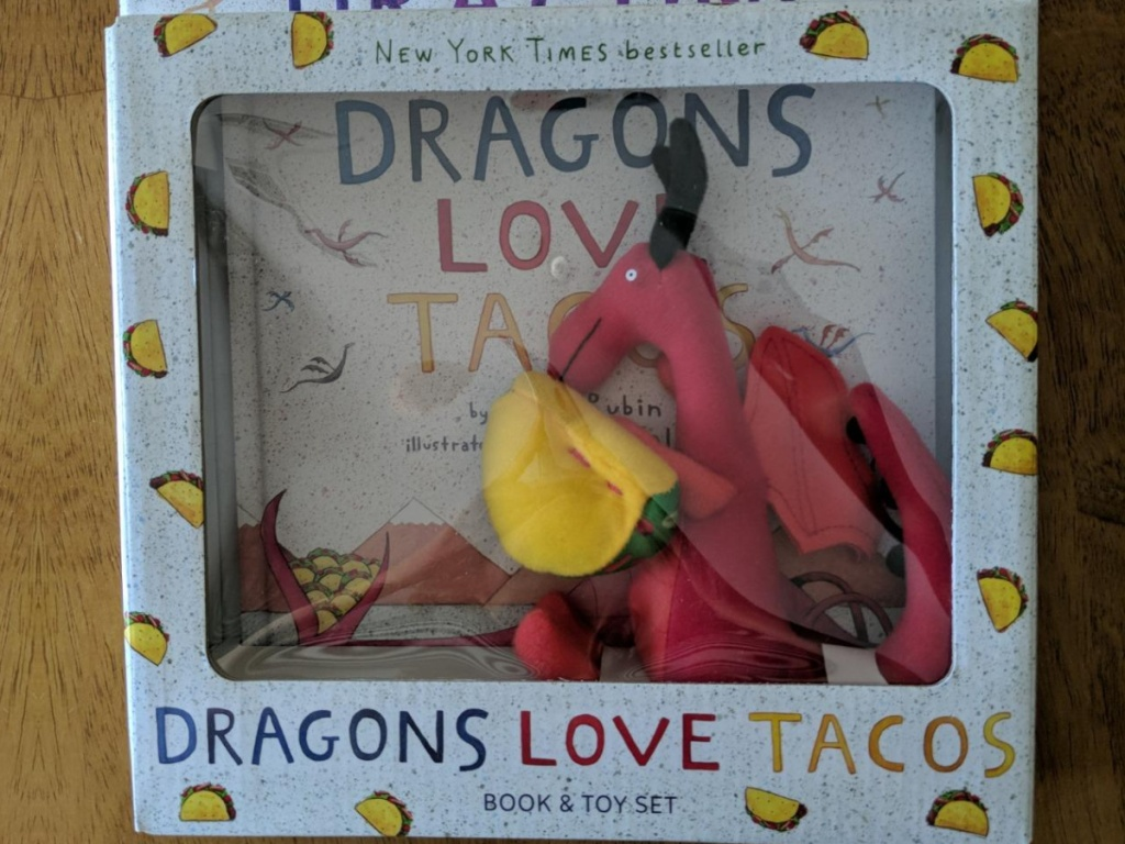 dragons love tacos board books and plush