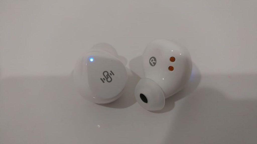 pair of earbuds