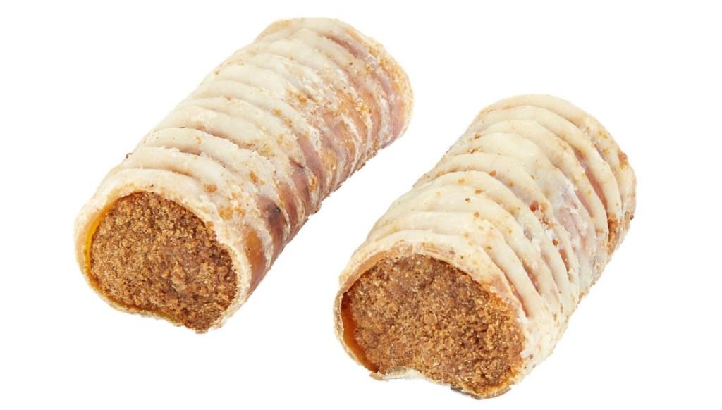 Bones & Chews Case of 20 Peanut Butter Flavored Filled Trachea Dog Treats