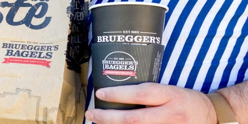 FREE Iced or Hot Bruegger's Bagels Coffee w/ App Order