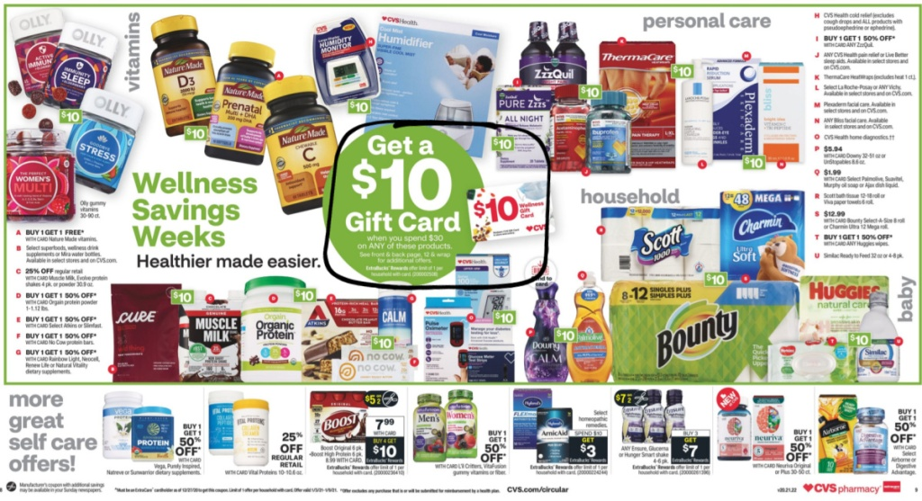 CVS Weekly Ad January 3rd - 9th Page 10