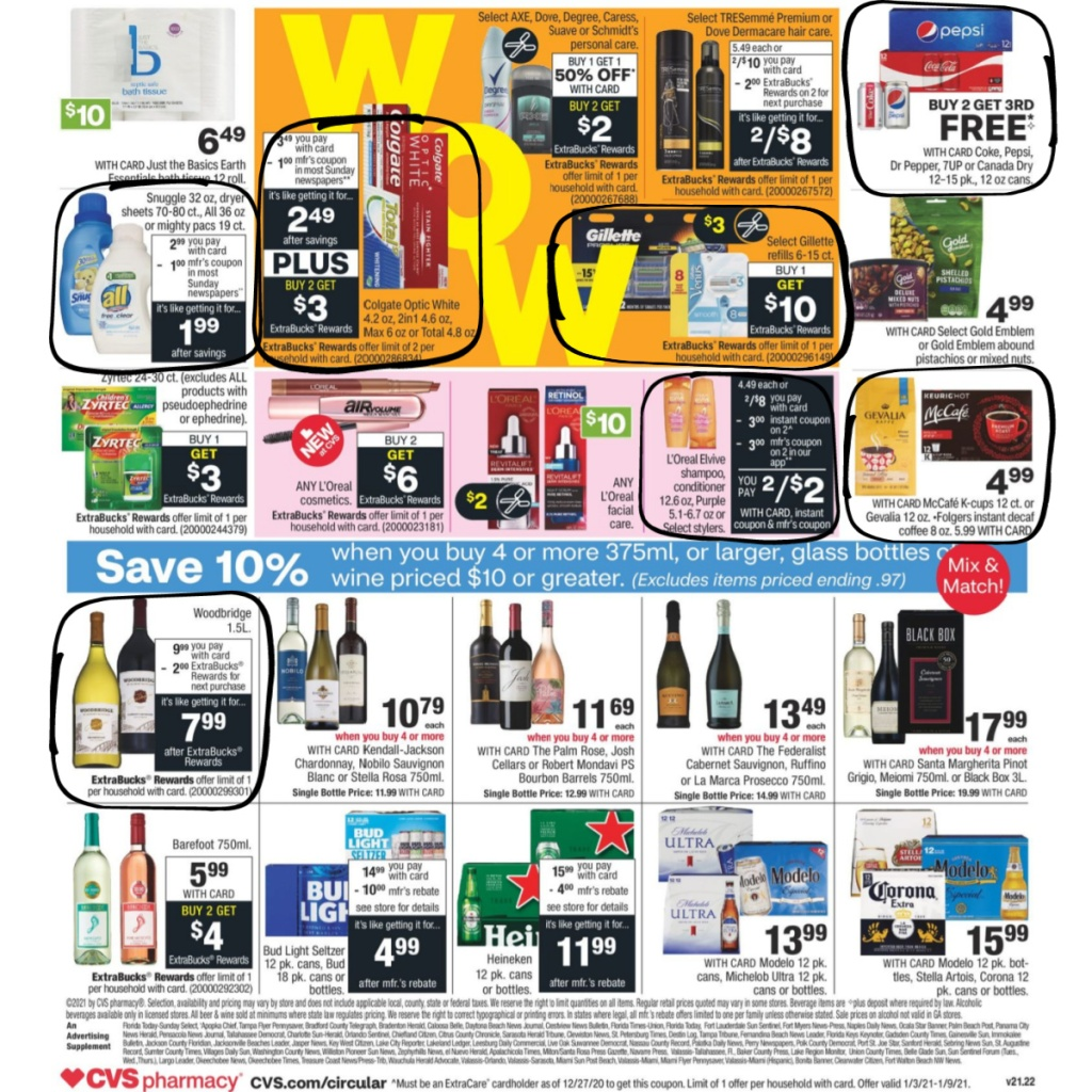 CVS Weekly Ad January 3rd - 9th Page 2