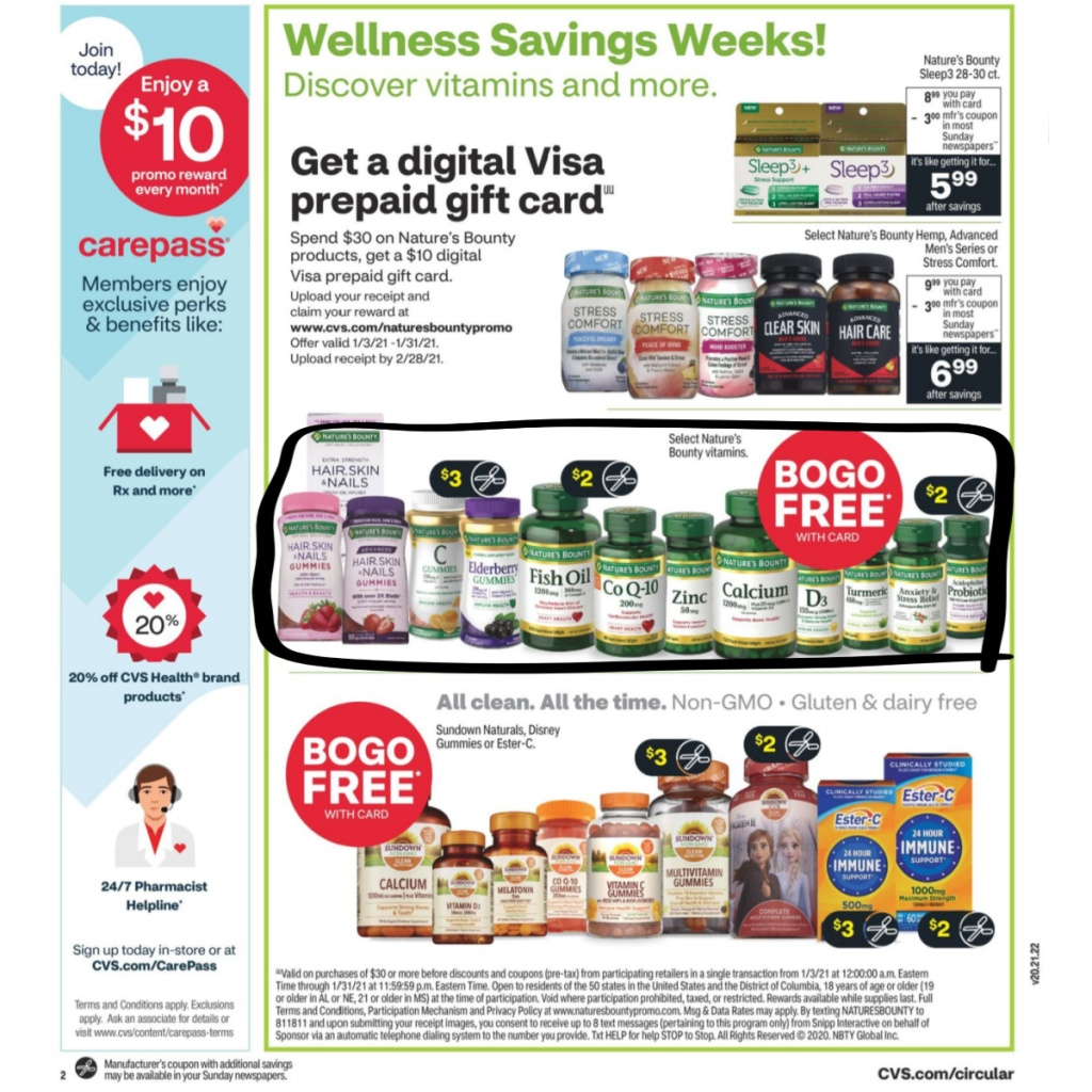 CVS Weekly Ad January 3rd - 9th Page 5