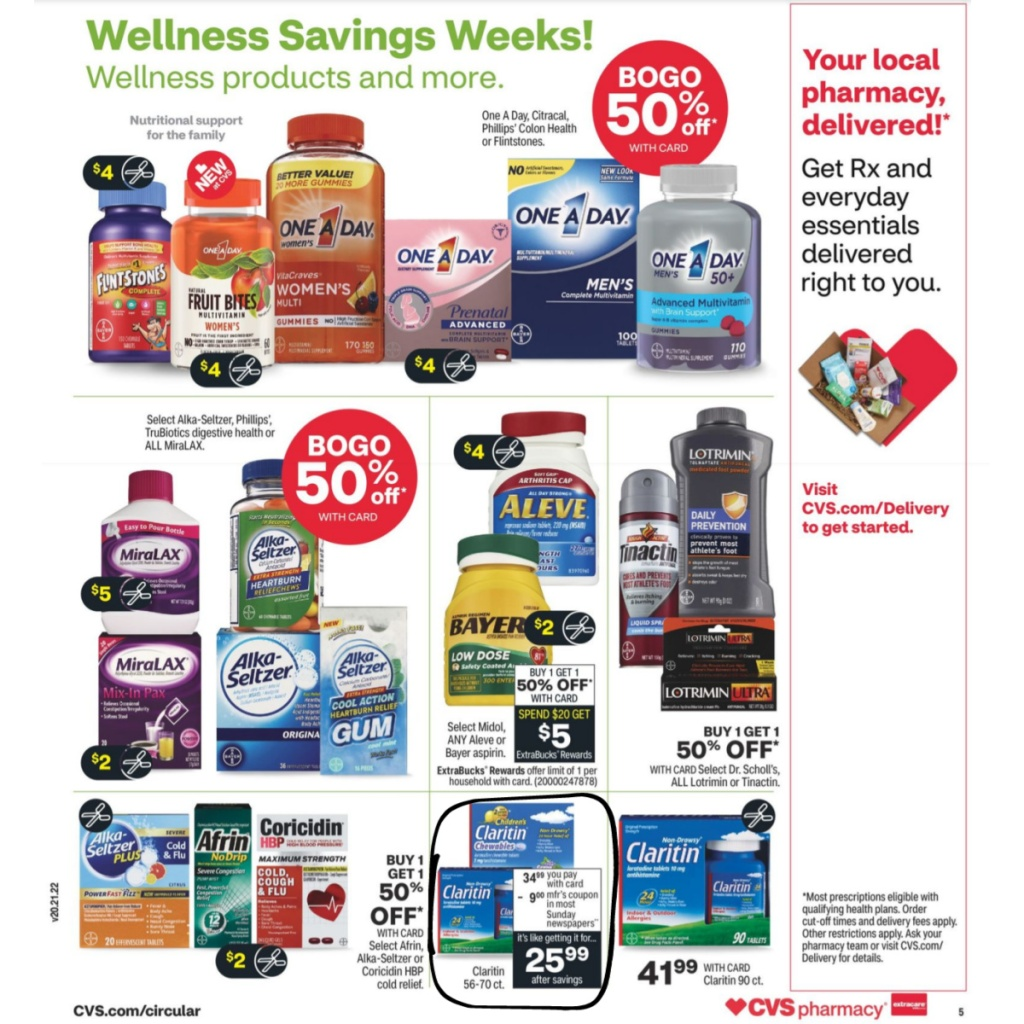 CVS Weekly Ad January 3rd - 9th Page 7