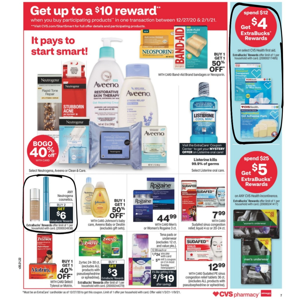 CVS Weekly Ad January 3rd - 9th Page 9