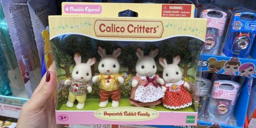 Calico Critters Figures & Playsets Only $12.99 at ALDI