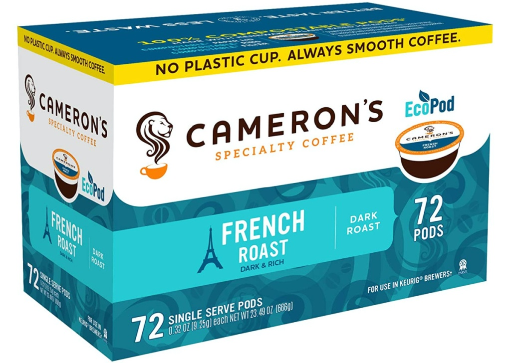 box of 72 coffee pods